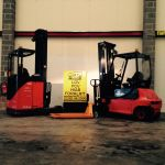 Two Forklifts