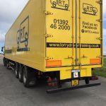 HGV Lorry rear